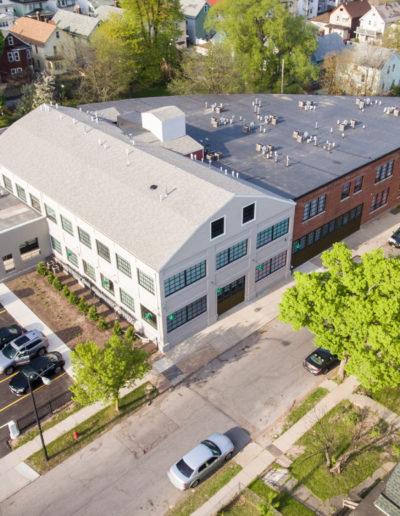 Mattress Factory Birdseye View