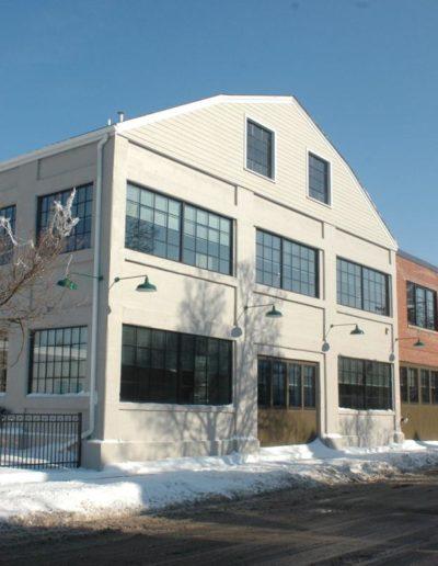 Mattress Factory Winter
