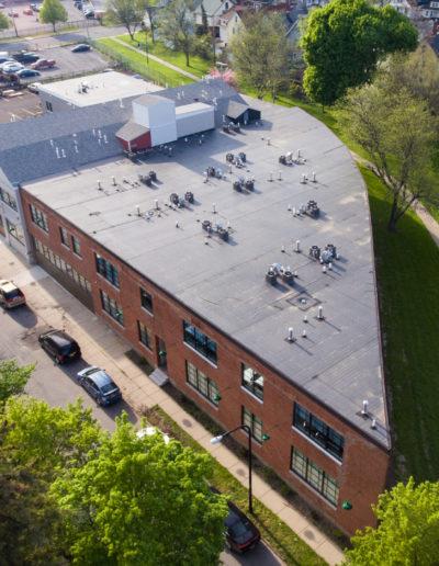 Mattress Factory Rear Birdseye View